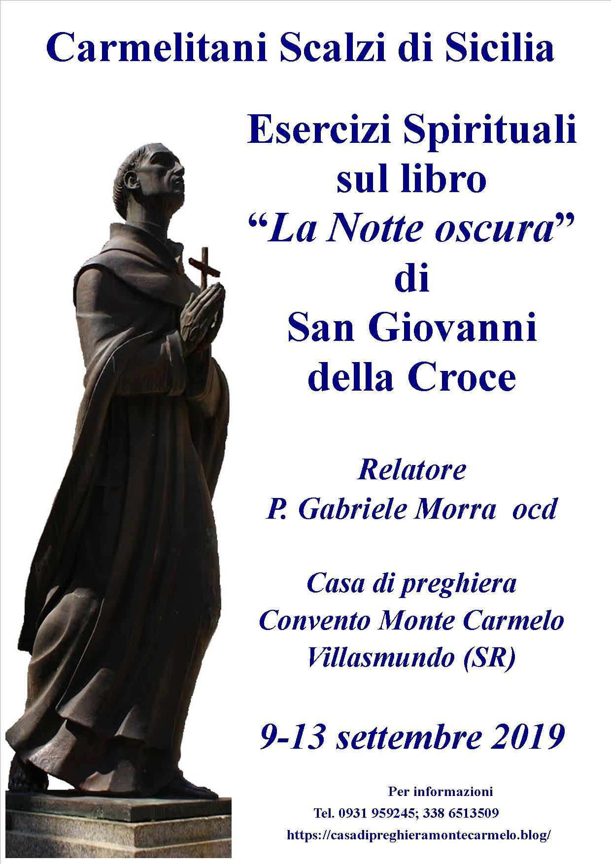 Esercizi Spirituali Casa Di Preghiera Monte Carmelo